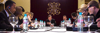 Meeting with Vlaislav Surkov
