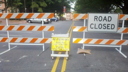 Cates Avenue Closed