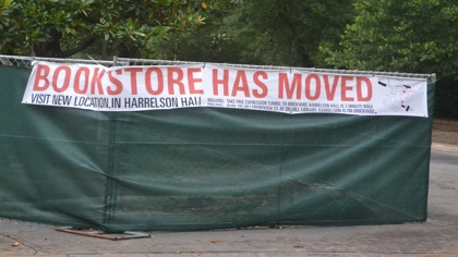 Bookstore moved