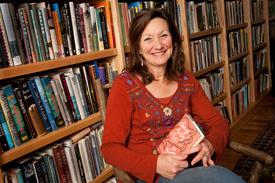 Jill McCorkle in the study of her Hillsborough farmhouse.