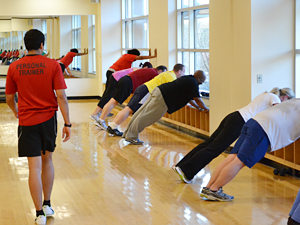 group exercise class
