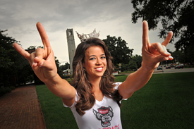 Johna Edmonds will represent North Carolina at the Miss American Pageant this fall.