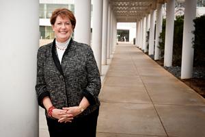 Terri Lomax on Centennial Campus