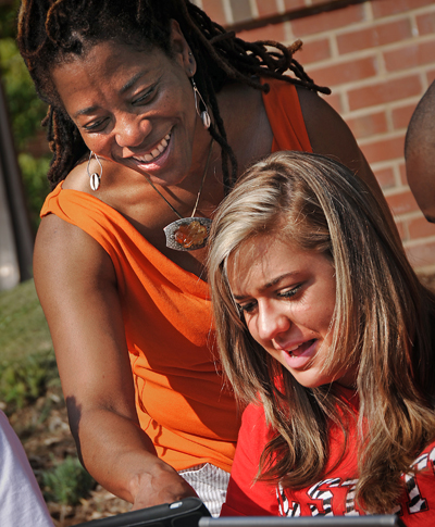 Having a mentor at a young age can put people on the path to career success. Photo credit: NC State University.