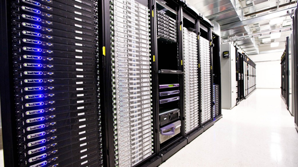 Large data center.