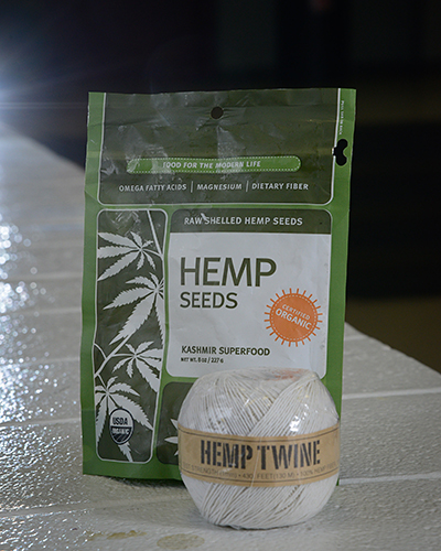 Hemp is used around the world to make rope, clothing, paper and other products.