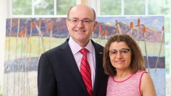 Moise and Vera Khayrallah's $8.1 million gift -- the largest in CHASS history -- establishes the first endowed center at NC State.