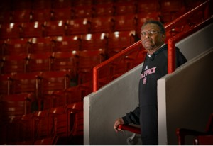 Billy Ray Dunn has worked in some capacity at Reynolds Coliseum since 1960.