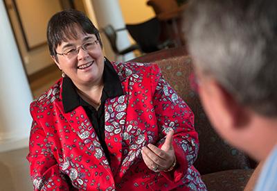 Dean of the College of Education  Jayne Fleener.