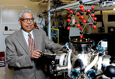 Students praise NC State's world-leading faculty. Jay Narayan directs the National Science Foundation Center for Advanced Materials and Smart Structures at NC State.