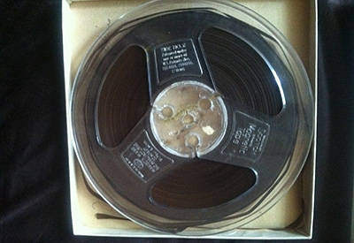 Miller found the aging reel of audio tape in a library in Rocky Mount.