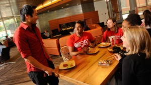 With eight restaurants and cafes, Talley Student Union offers a range of cuisines.