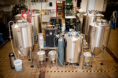 In case you were wondering what a beer lab looks like.