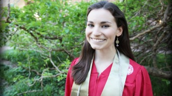 NC State graduate and linguistics enthusiast Jessica Hatcher.
