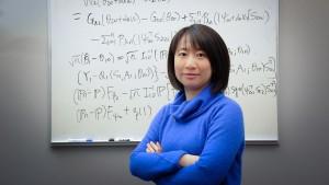 PAMS (COS) professor Rui Song. She's in bioinformatics.