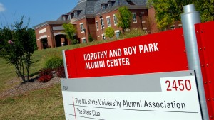 The Dorothy and Ray Park Alumni Center on Centennial Campus, home to the NC State Alumni Association.