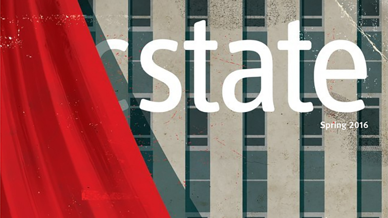 A snapshot of the cover of the spring 2016 edition of the NC State alumni magazine.