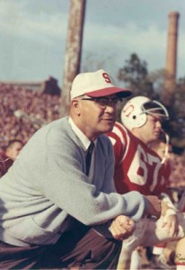 NC State head football coach Earle Edwards