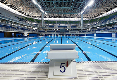 NC State's swimmers will compete in the Olympic Aquatics Stadium.