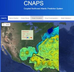 CNAPS screenshot