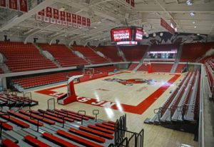 The newly refurbished Reynolds Coliseum.