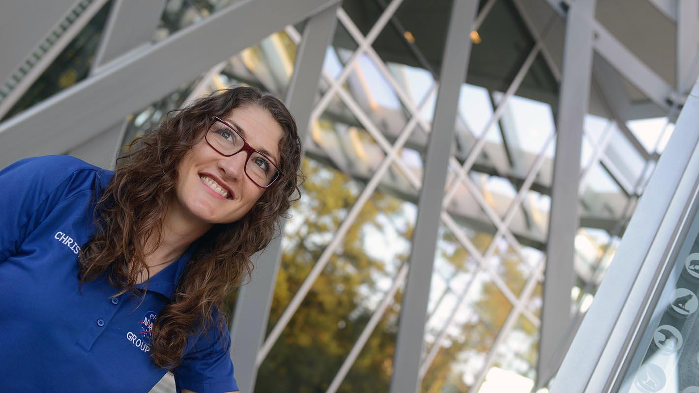 Christina Hammock Koch at Talley Student Union