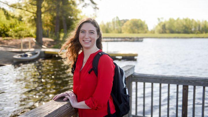 NCState graduate Jessica Kraus.