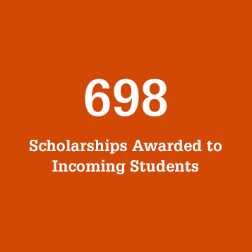 698 Scholarships Awarded to Incoming Students