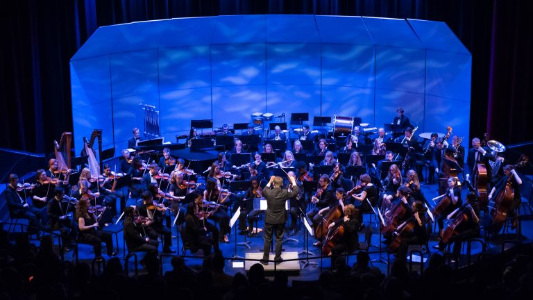 The Raleigh Civic Symphony plays a concert.