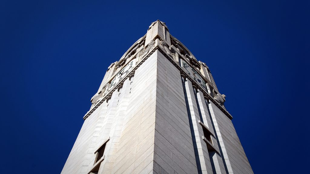 Photo of NC State's Belltower