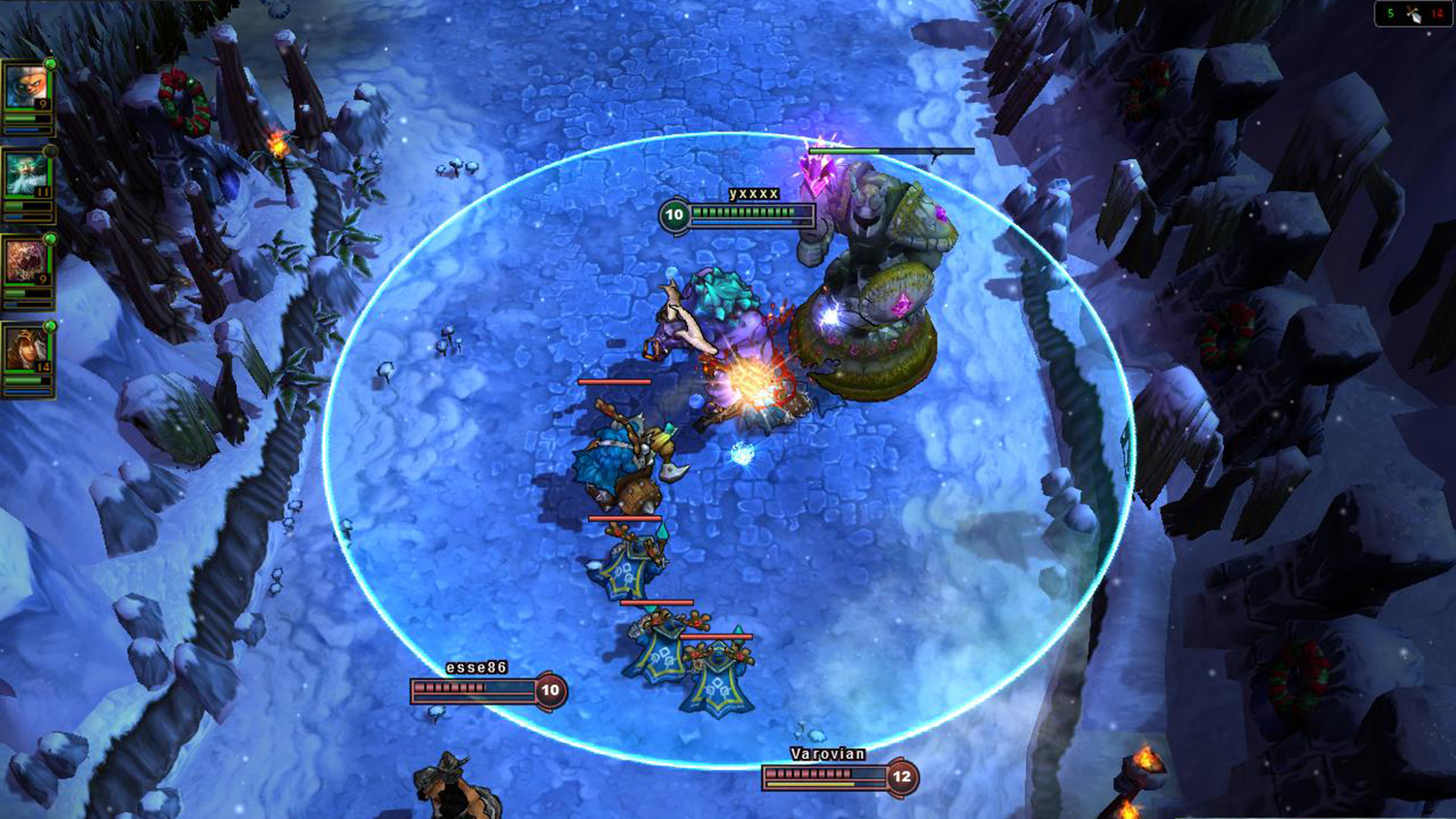 Screenshot of the League of Legends game