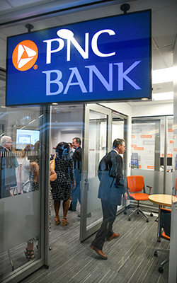 PNC Bank in Talley Student Union