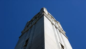 The Top of NC State's Bell-tower