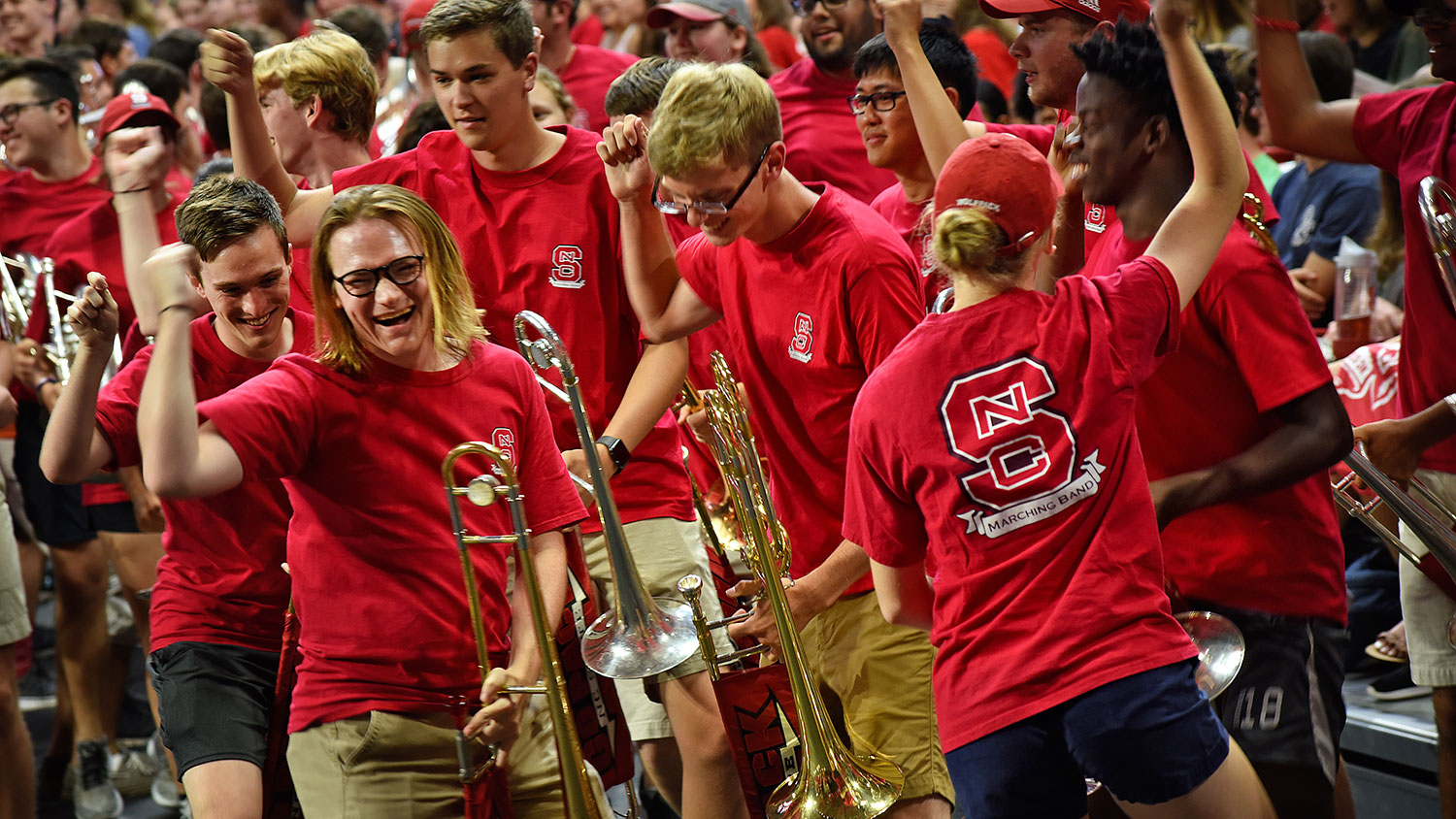 NC State marching band