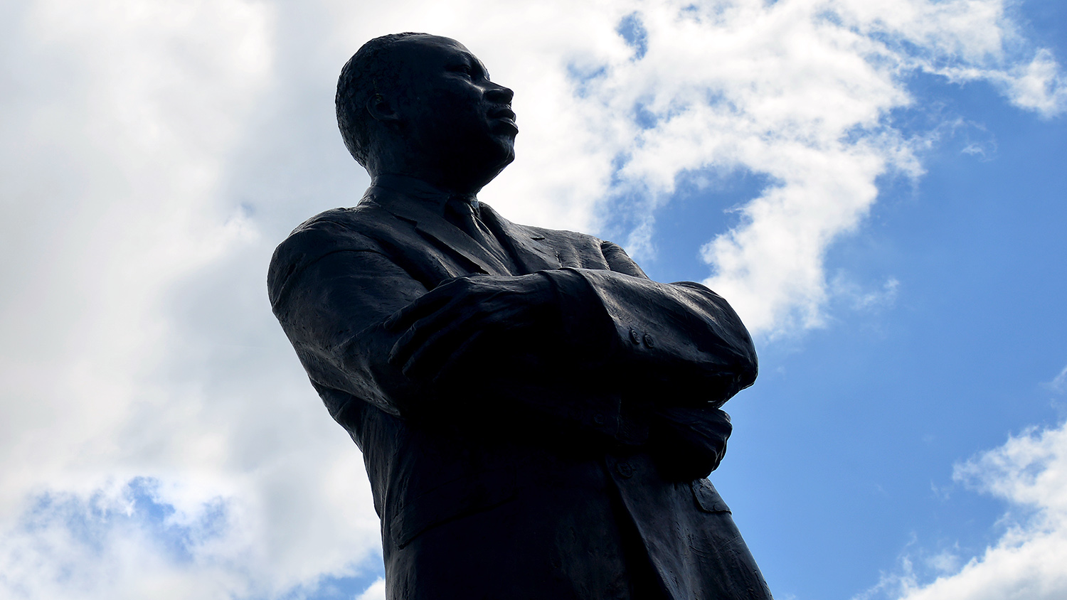 Rocky Mount's statue of Martin Luther King Jr.