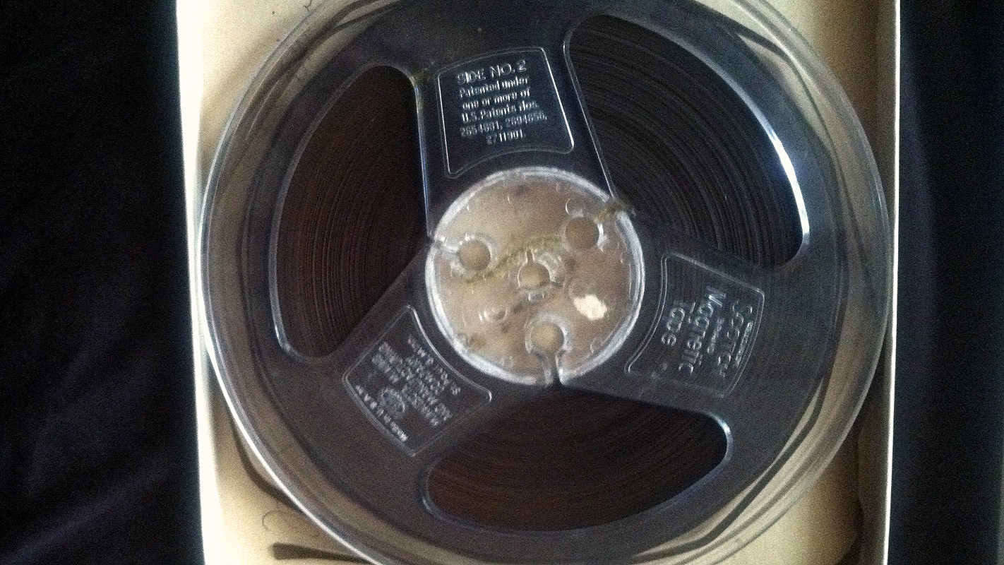 The original audio tape of Martin Luther King Jr.'s speech in Rocky Mount, N.C.