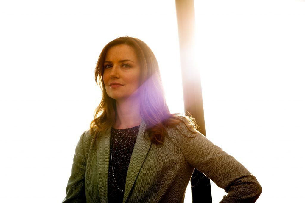 NC State faculty member Sarah Desmarais.
