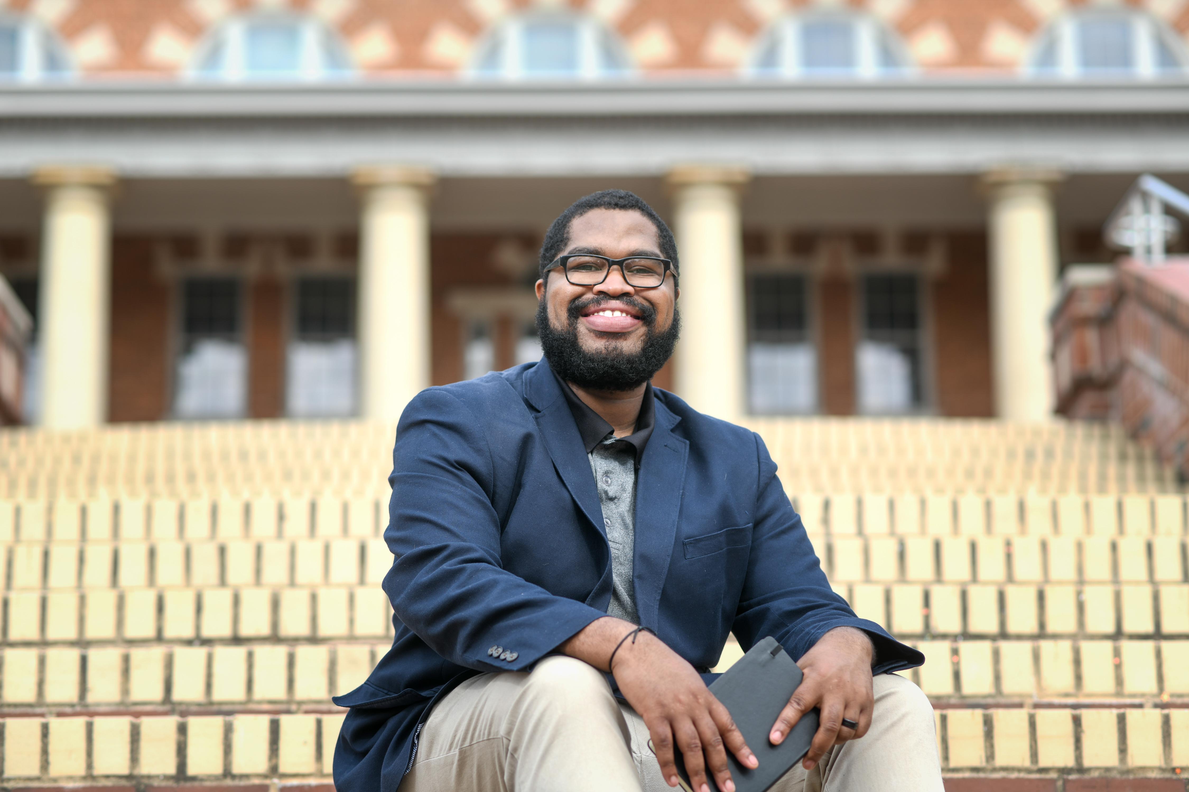 NC State MFA alumnus Tyree Daye.
