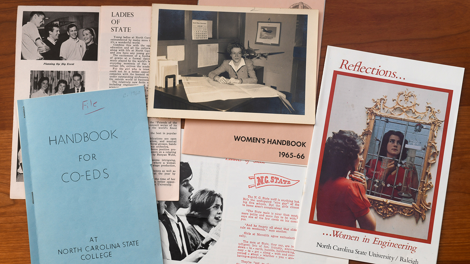 A collection of archival materials related to women's history at NC State.
