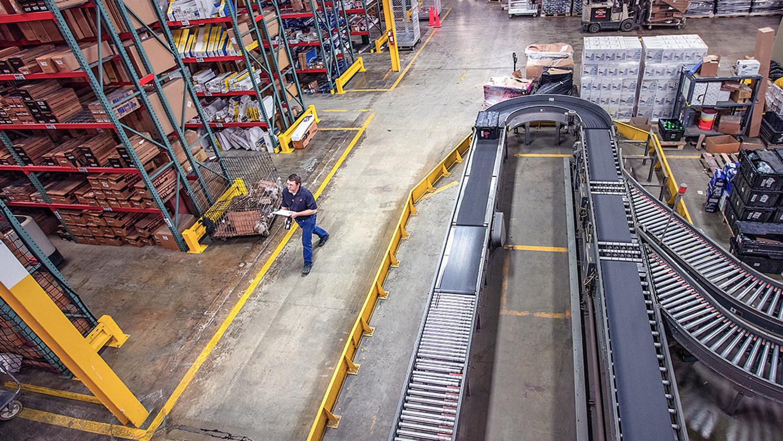 Photo of factory floor.