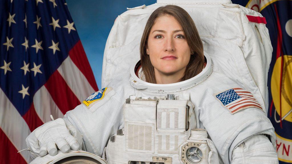 NC State alumna and astronaut Christina Koch