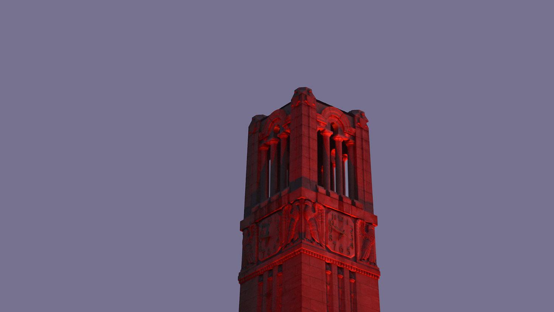 Red Belltower at dawn.