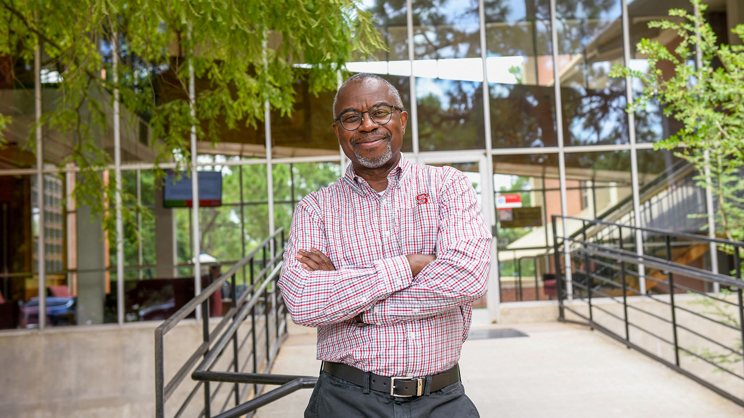 Dr. Myron Floyd, dean of the NC State College of Natural Resources
