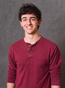 Portrait of 2020 Goldwater Scholar Jonathan Palmer