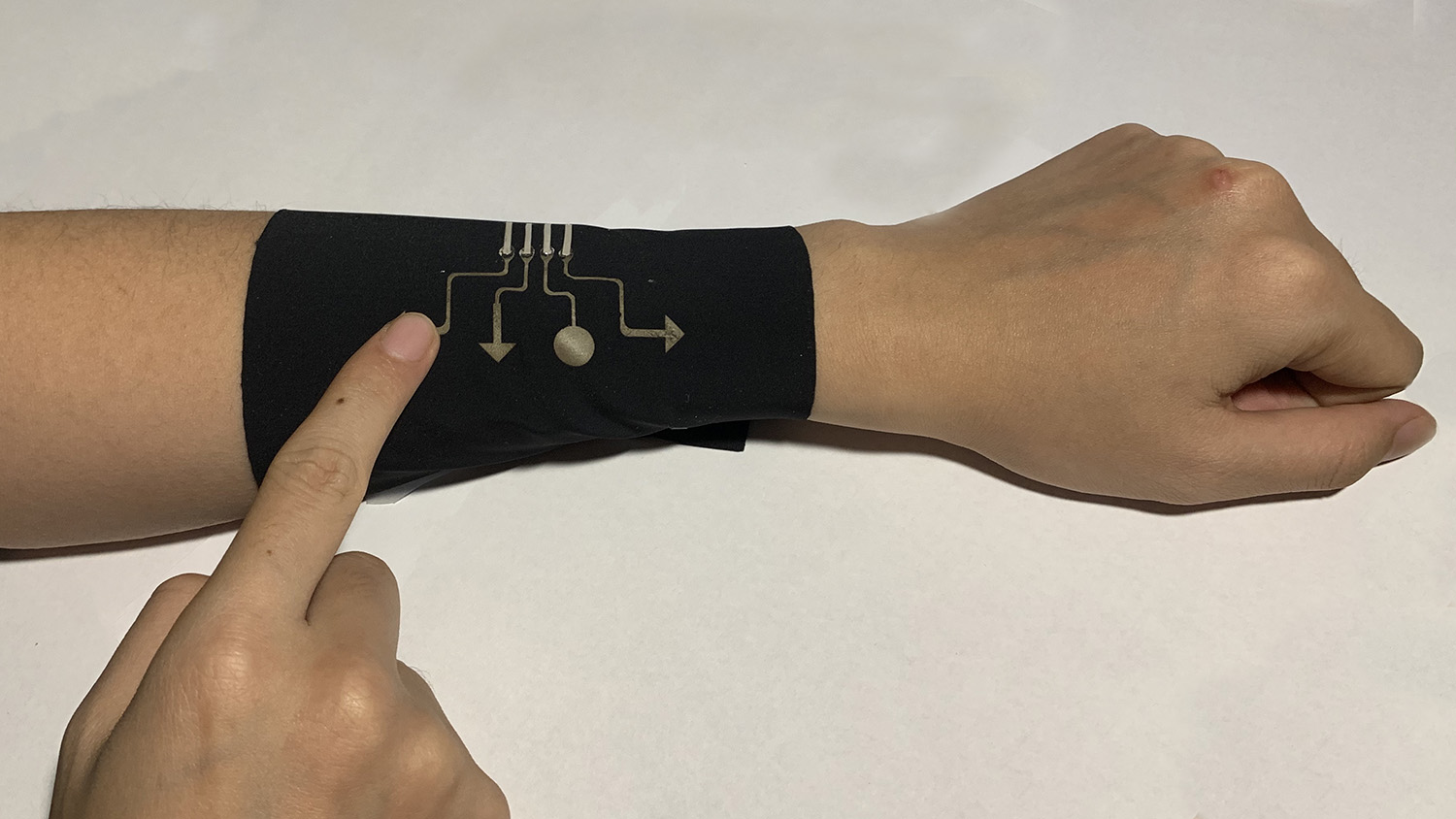 fabric sleeve that is also a video game controller