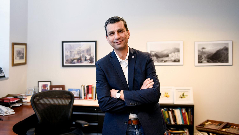 NC State History Professor Akram Khater