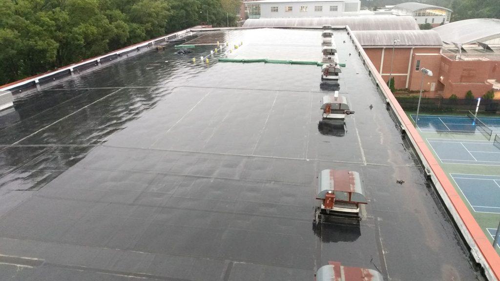 Carmichael Gymnasium roof