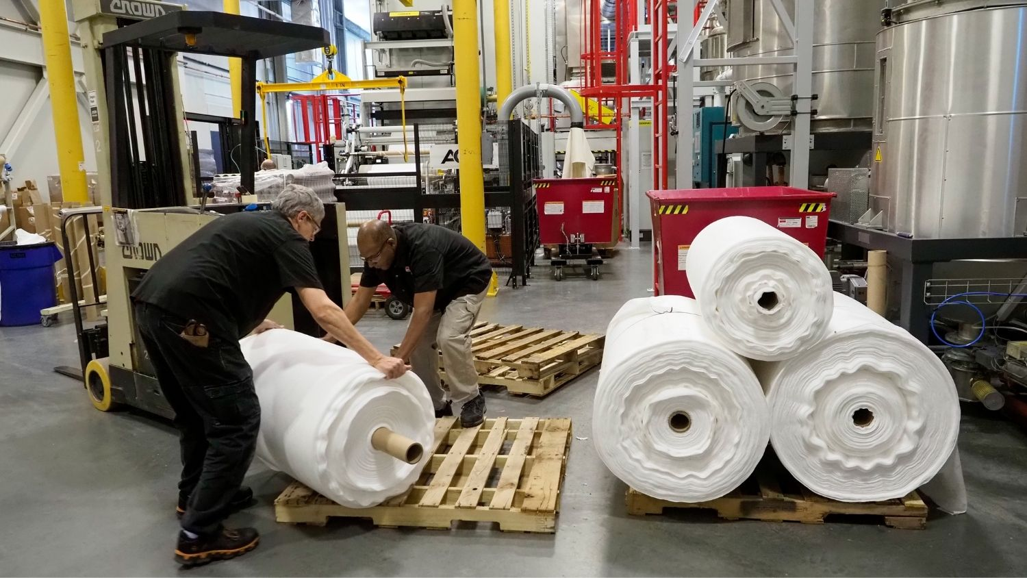 NWI is dedicating its meltblown and spunbond nonwoven making facilities and expertise to produce specially designed fabrics that can be delivered to USA manufacturers to assemble facemasks.