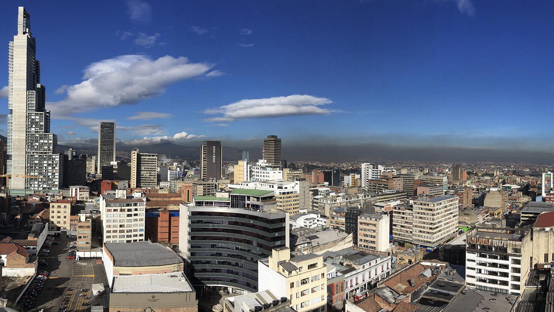 skyline of Bogotá