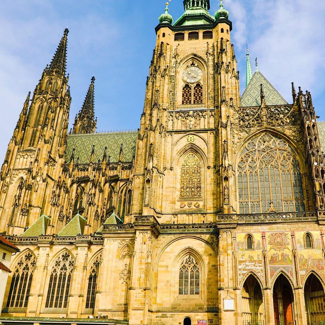 An historic church in Prague.